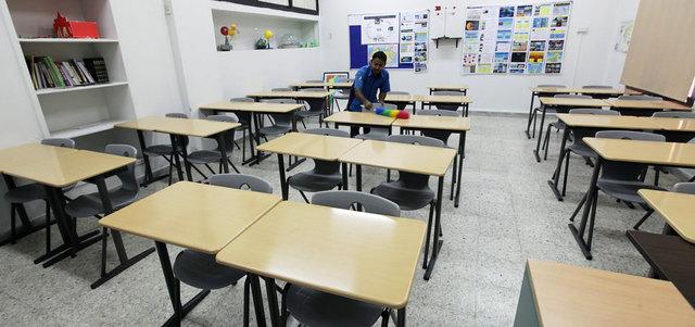 نسب الغياب في مدارس الشارقة تصل إلى 90%