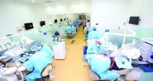 'طب الأسنان' في جامعة عجمان تعالج 140 ألف مراجع مجاناً