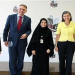 'أبوظبي للتعليم' يبحث إعداد دورات في اللغة العربية للهيئات الدبلوماسية
