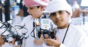 طلبة المدارس والجامعات في أبوظبي يتأهبون لأولمبياد الروبوت العالمي