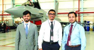 3 طلاب إماراتيين يبدأون برنامجاً لتطوير المهارات التقنية في بريطانيا