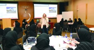 جامعة زايد تطلق التدريب اللاصفي لتقوية مهارات الطلبة