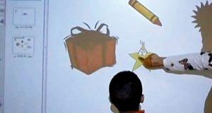 طالب مواطن يبتكر لوحات تعليمية تفاعلية
