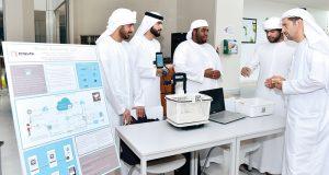 طلبة جامعة خليفة يعرضون 25 ابتكاراً قابلاً للتنفيذ