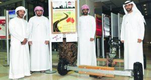 مناقشة 69 مشروعاً تطبيقياً في المجالات الصناعية بجامعة الإمارات