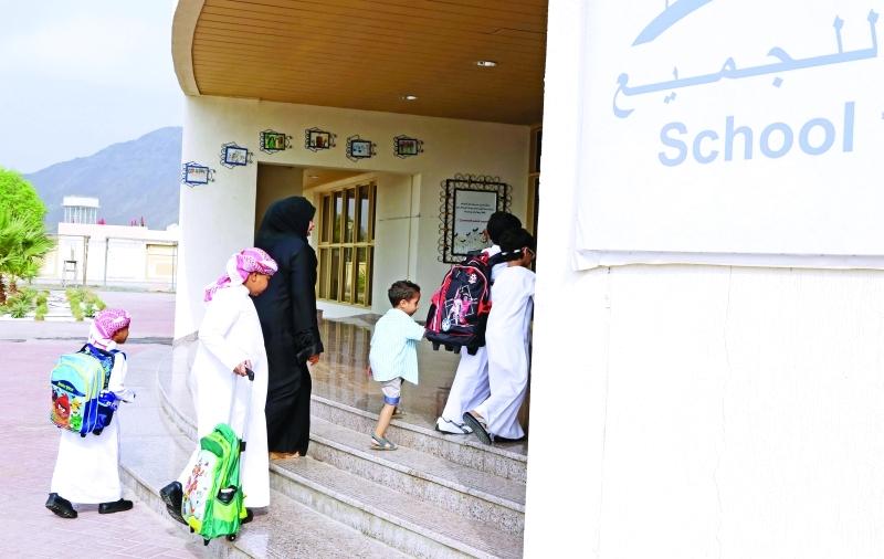 المدارس جاهزة لاستقبال الطلبة في الفصل الدراسي الثاني