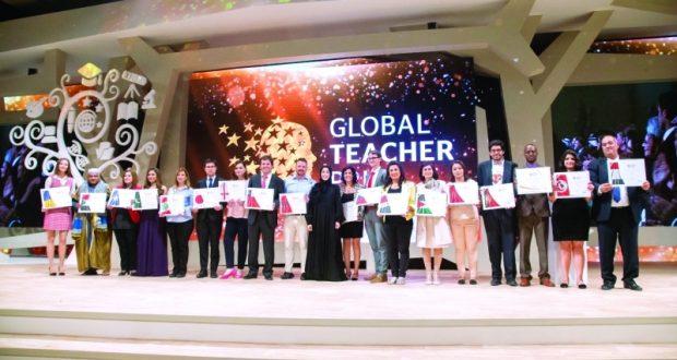 جائزة أفضل معلّم في العالم تحفّز 20 دولة على إطلاق منافسات وطنية
