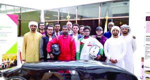 جامعة أبوظبي تدشن سيارة ذات كفاءة عالية في ترشيد الوقود