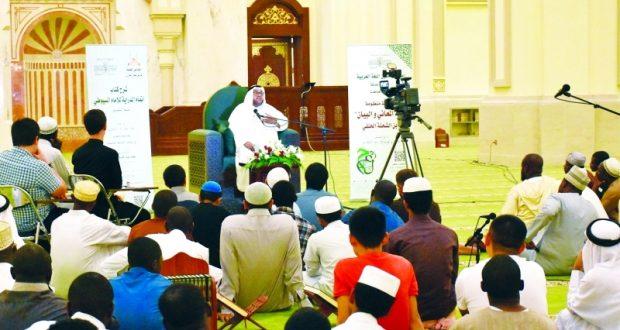 117 طالباً في ختام فعاليات الثقافة الإسلامية بالشارقة