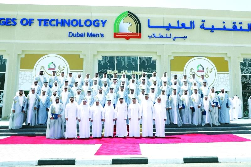 حمدان بن محمد يشهد حفل تخريج «طلبة التقنية»