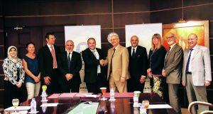 اتفاقية تعاون بحثي بين جامعتي عجمان وجينا الألمانية