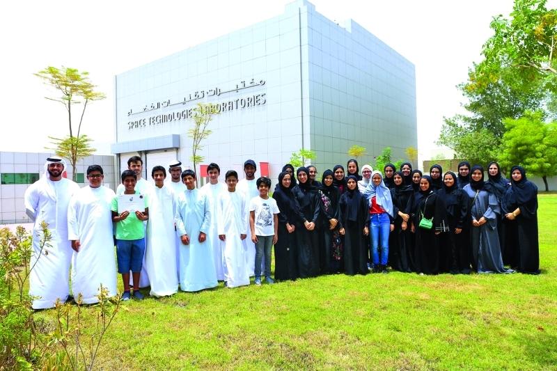 مركز محمد بن راشد للفضاء ينظم مخيماً صيفياً