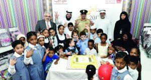 حقائب مدرسية لمرضى الثلاسيميا في دبي
