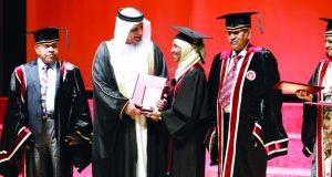 سعود بن صقر: مسيرة التعليم العالي في الإمارات وصلت إلى مكانة رفيعة