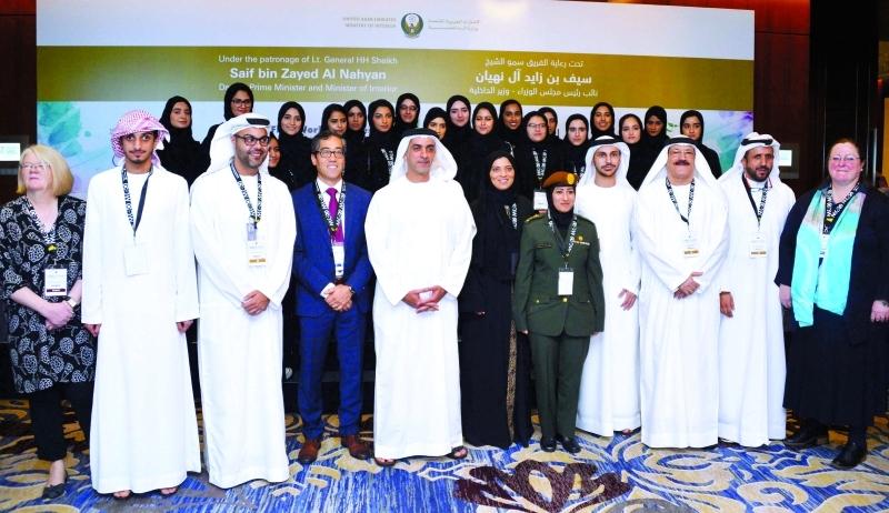 سيف بن زايد: فخور بطلبة جامعة خليفة وأفكارهم المبدعة