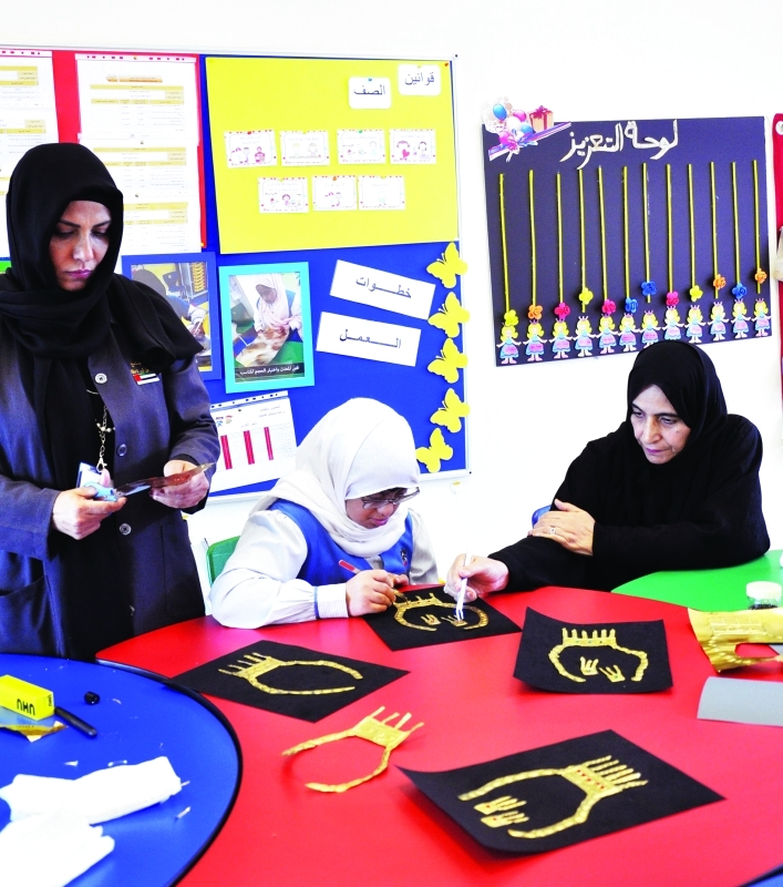 «دبي لرعاية أصحاب الهمم» يُشرك أولياء الأمور في تعليم أبنائهم