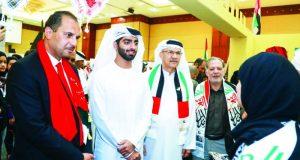 حميد بن عمار يشهد احتفالات جامعة عجمان باليوم الوطني