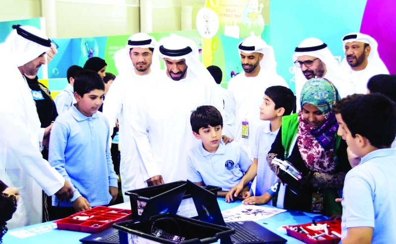نهيان بن زايد يفتتح مهرجان أبوظبي للعلوم