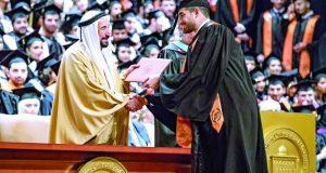 سلطان القاسمي: «أميركية الشارقة» جامعة بحثية شاملة