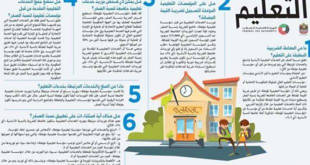 ضريبة «صفر» على الخدمات التعليمية الأساسية