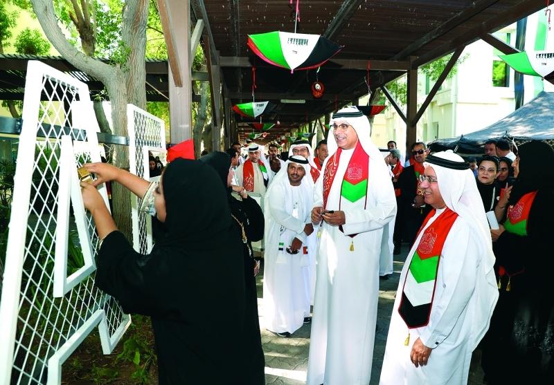 23 ألف طالب يشاركون بالاحتفال في كليات التقنية العليا
