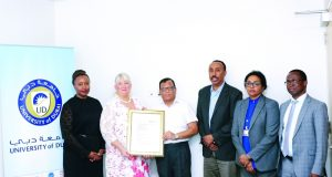 جامعة دبي تحصل على أول اعتماد عالمي من معهد «سيبس»