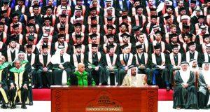 سلطان القاسمي: جامعة الشارقة الأولى عالمياً في تعدد الجنسيات