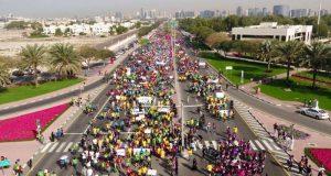 15 ألف مشارك بمسيرة دبي العطاء للتعليم 2018
