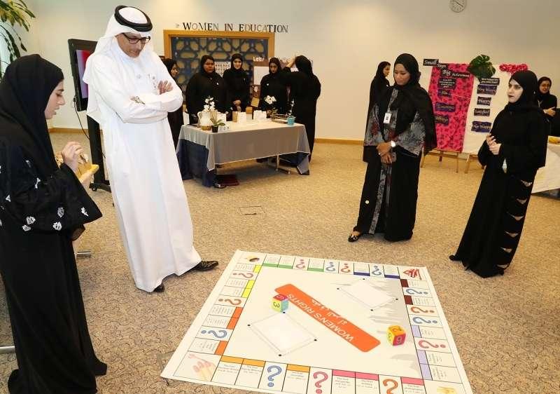 افتتاح متحف «المرأة الإماراتية» في كليات التقنية للطالبات بدبي