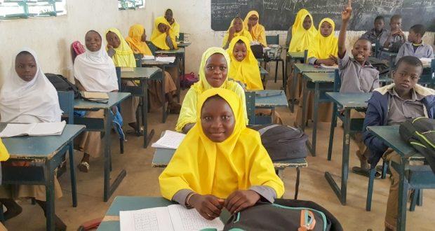 19844 طالباً في مدارس حمدان بن راشد بأفريقيا