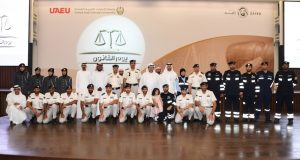 سعيد بن طحنون يشهد احتفال جامعة الإمارات بـ«يوم القانون»