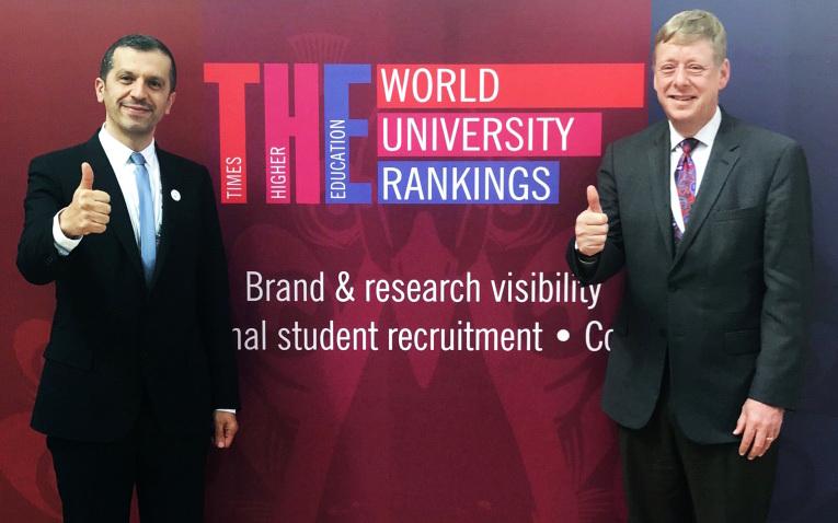 جامعة خليفة تتقدم 34 مرتبة