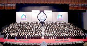 موزة بنت طحنون بن محمد تشهد تخريج طالبات «التقنية» في أبوظبي