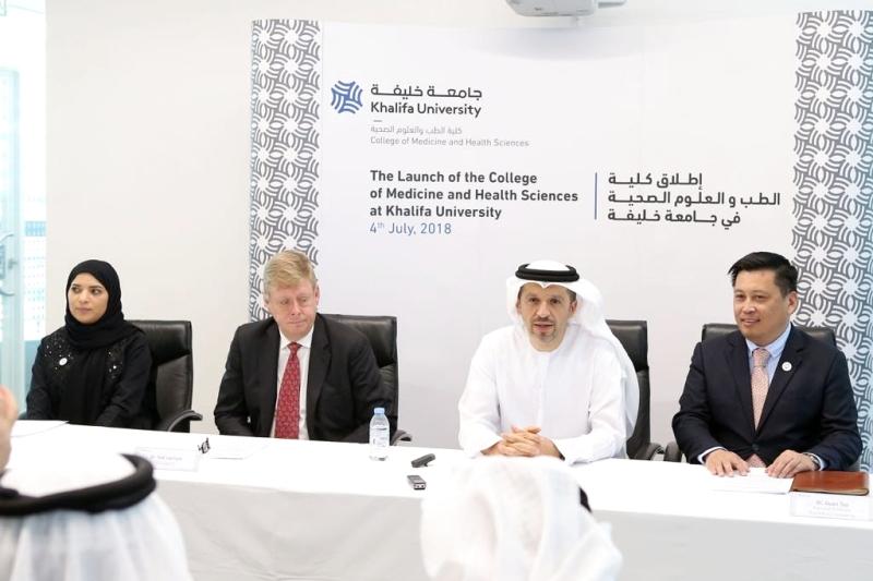 جامعة خليفة تطلق أول كلية طب وعلوم صحية في أبوظبي