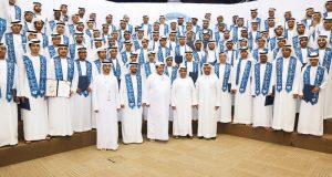 سعيد بن طحنون يشهد تخريج 96 طالباً من «التكنولوجيا التطبيقية» في العين